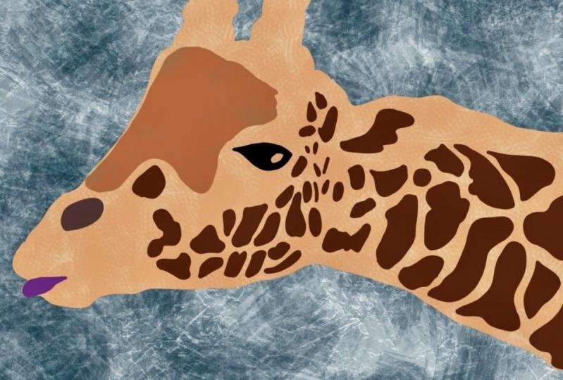Lori's Giraffe!
