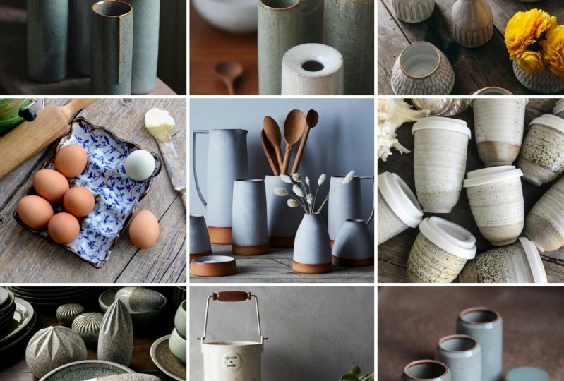 Pottery Inspiration Grid