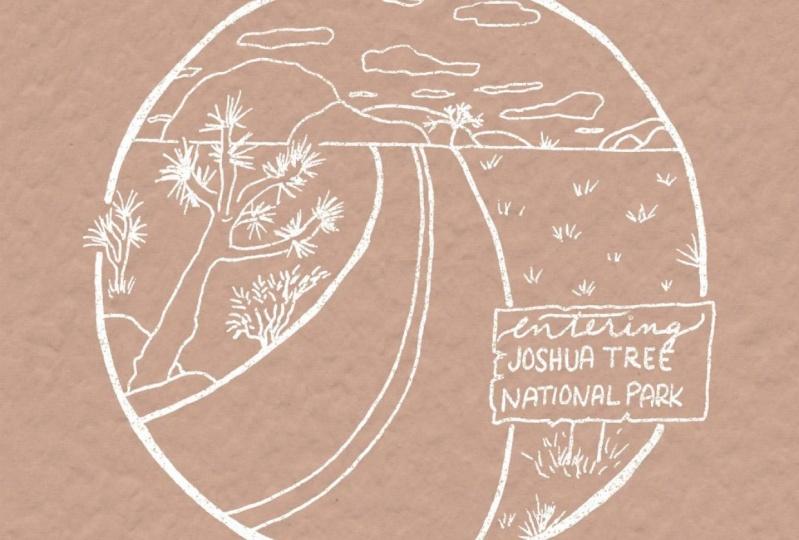 Joshua Tree Illustration, Take 1