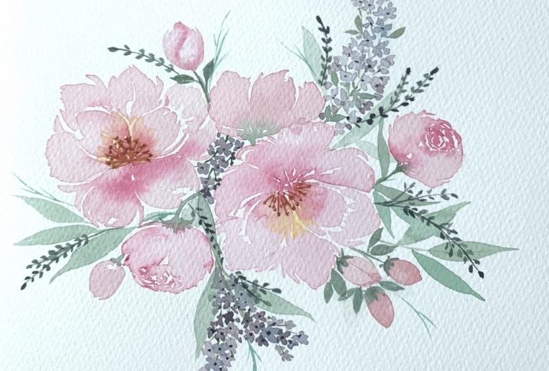 Loose Peonies with Joly