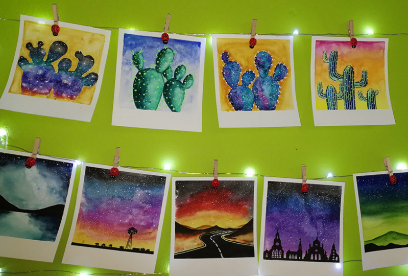 Space Cacti