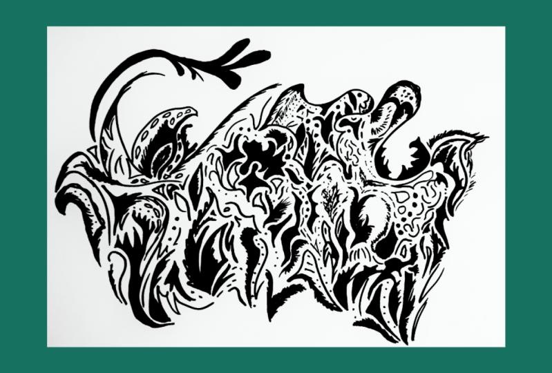 Bison doodle