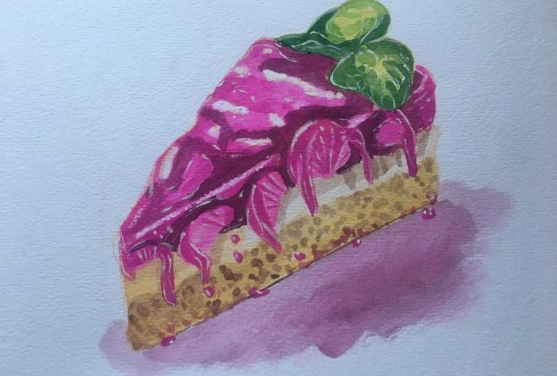 Watercolour Dessert