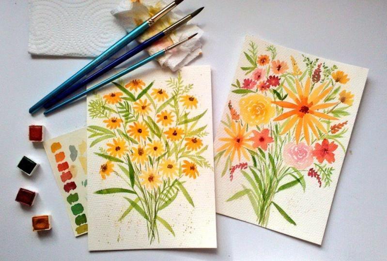 Loose Floral Bouquets