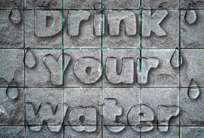 Water & Soap Lettering effects