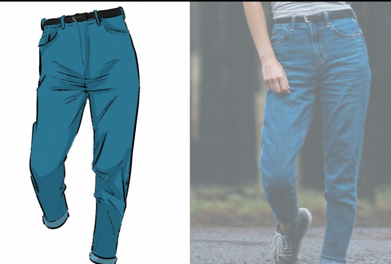 Blue Jeans! Step by Step