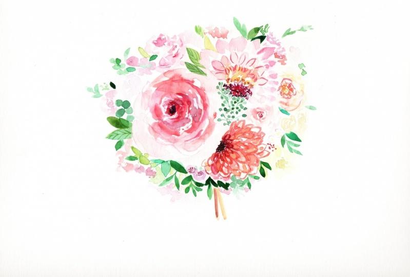 My Simple Wedding Bouquet