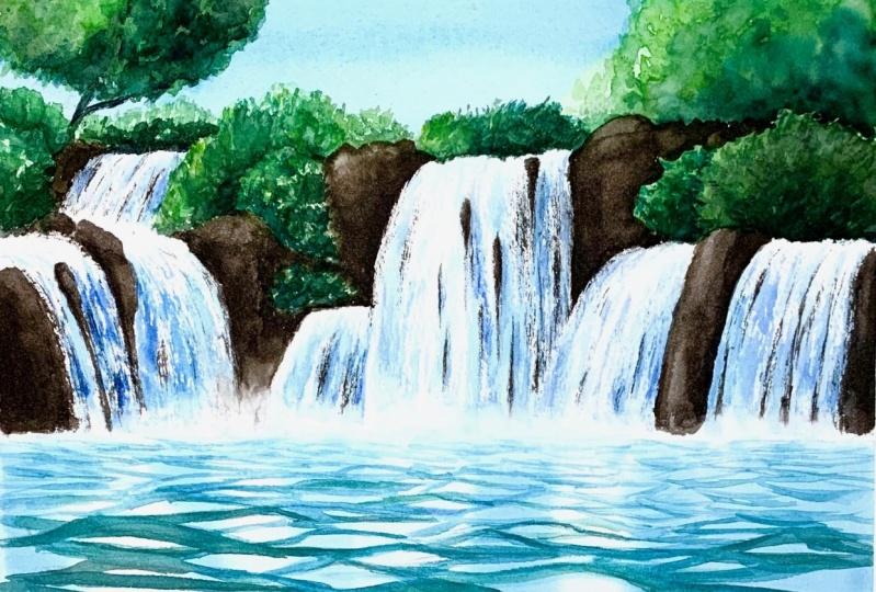 Step-by-step waterfall