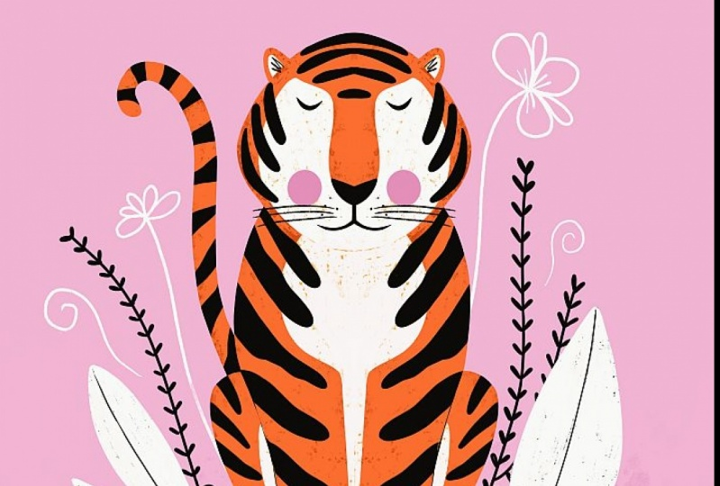 Symmetrical Tiger