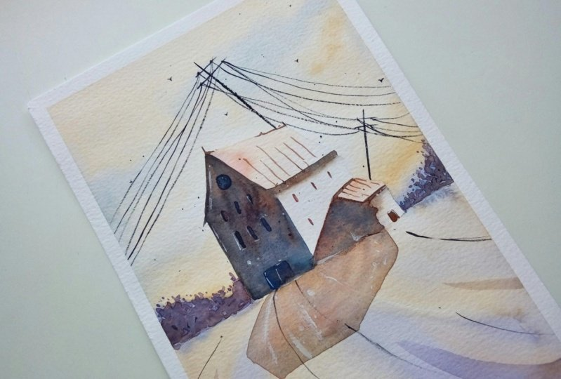 Lights and Shadows in Watercolor