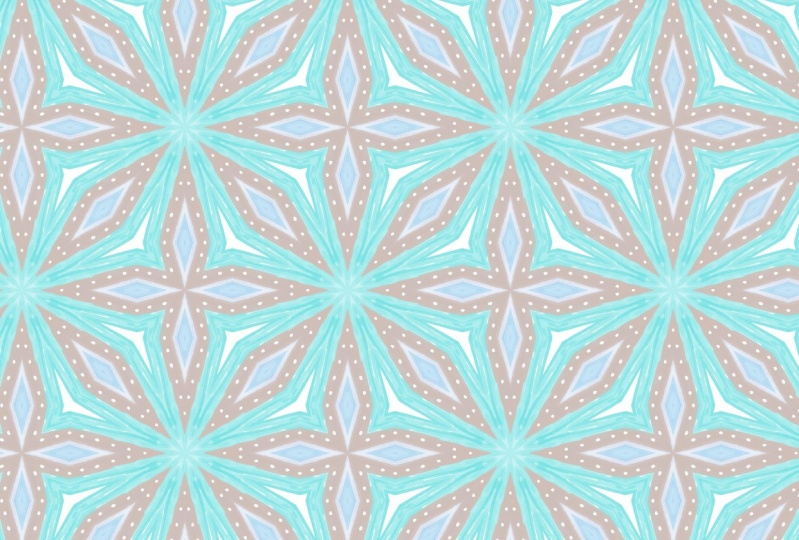 Blue Star Surface Pattern Project 1