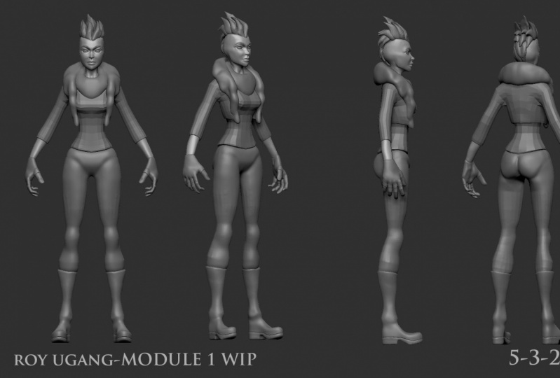 Character Modeling and Texture Class Module 1