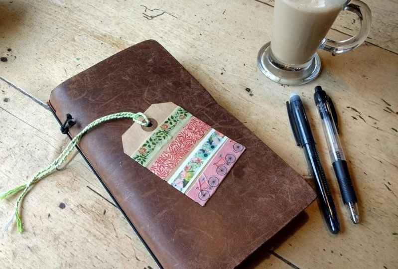 Day out - coffee and journaling