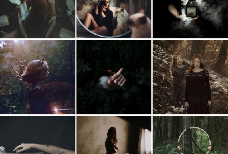 Ethereal & moody, Dark & campy