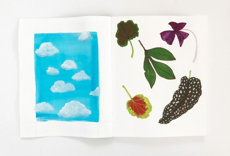 Painting with Gouache