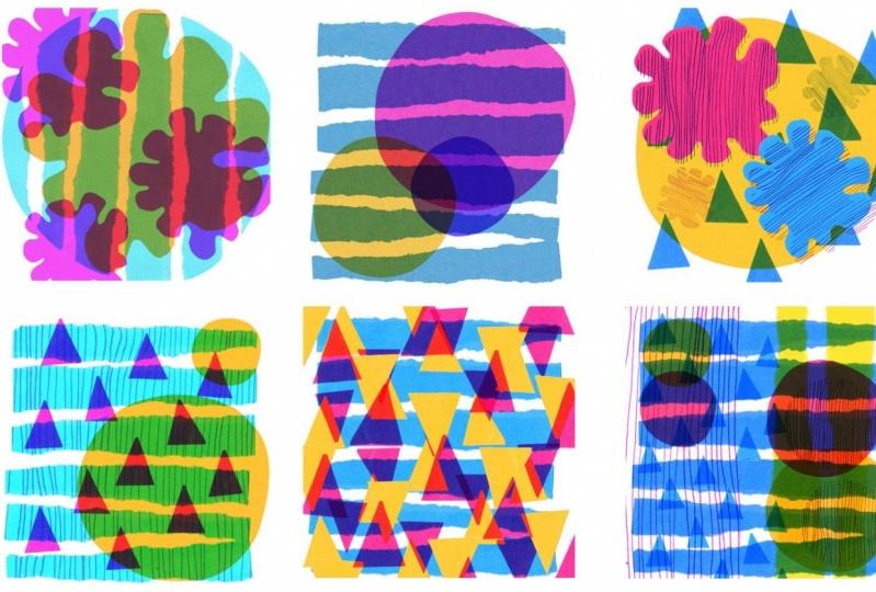 Cut, Collage, Doodle