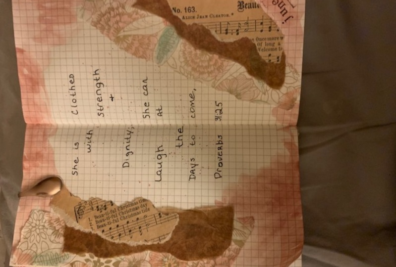 Beautiful Vintage Journal Pages project