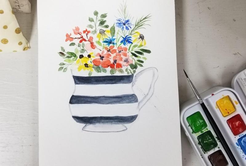 Teacup Floral Bouquet