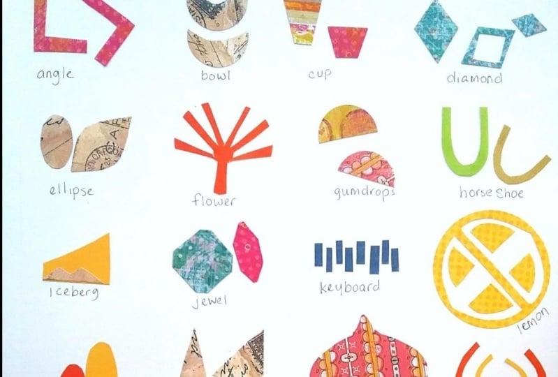 Stitch Collage & Shape Chart