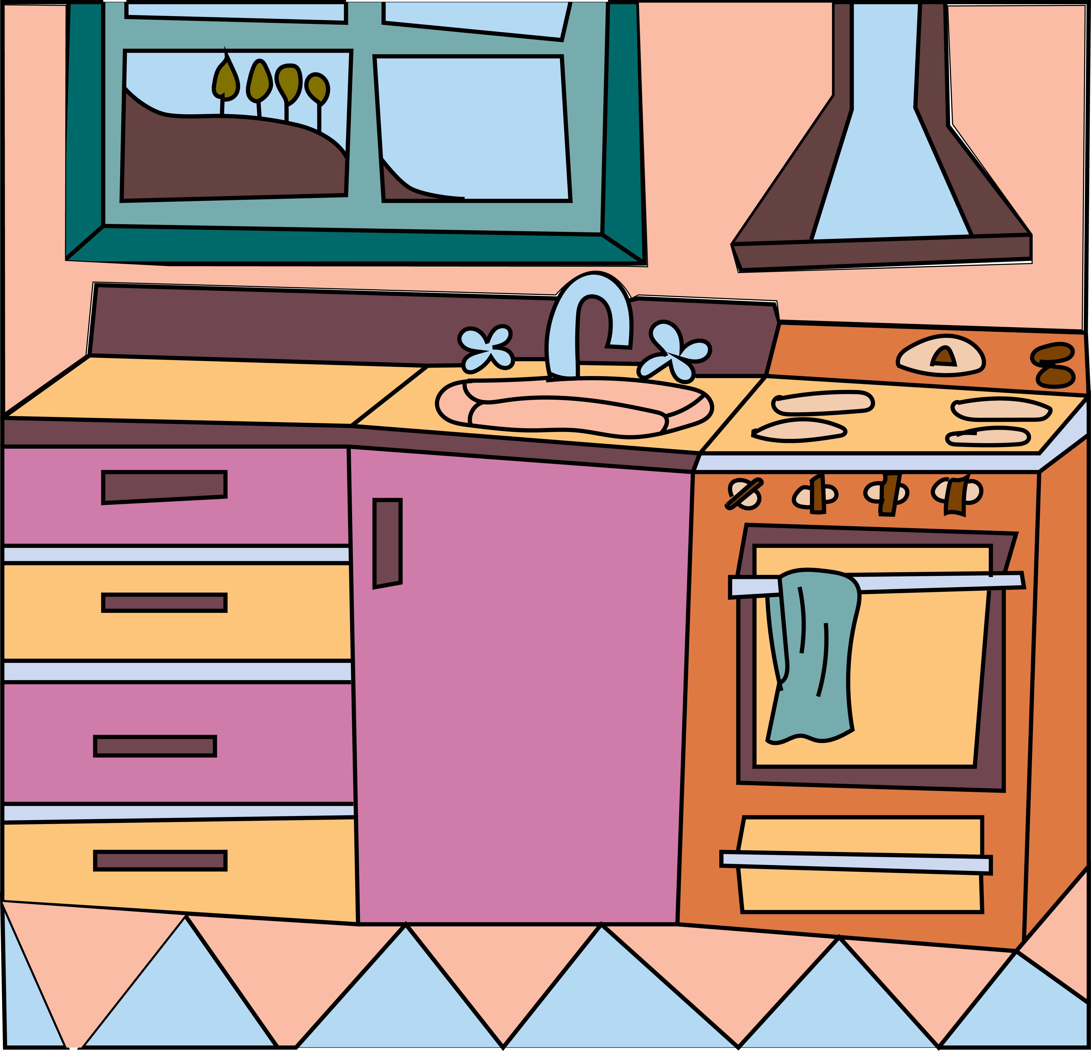 Кухня в картинках для детей, летием сестре
