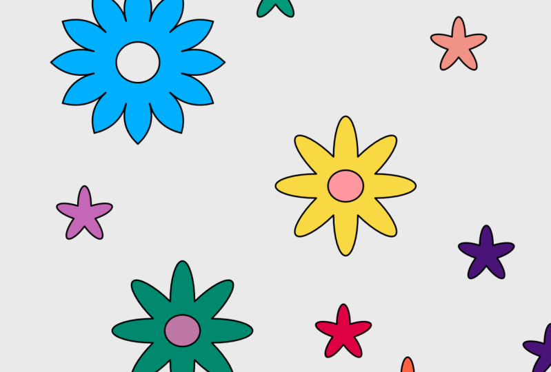 Flowers galore.