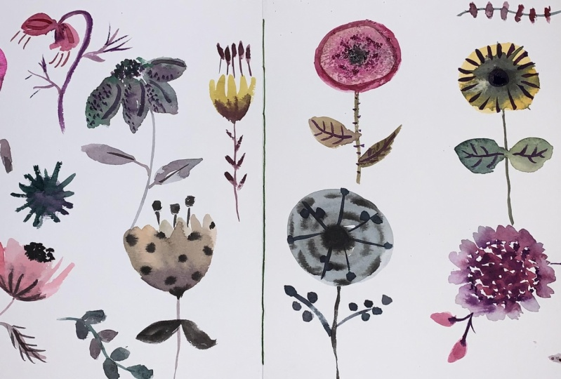 Modern Florals Class