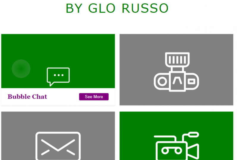 My Project Gallery; by Glo Russo