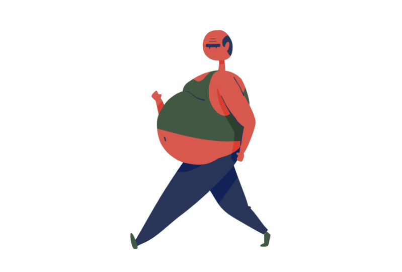 Big Belly Walkcycle