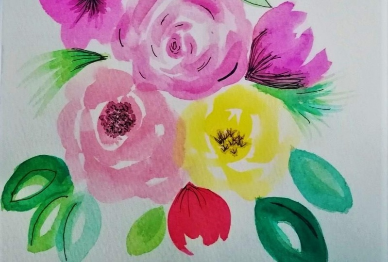 Loose florals