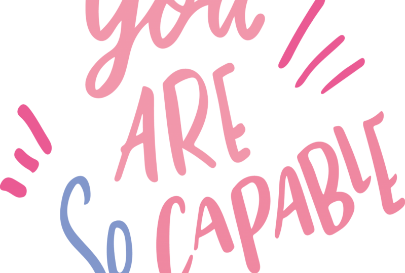 you are so capable project