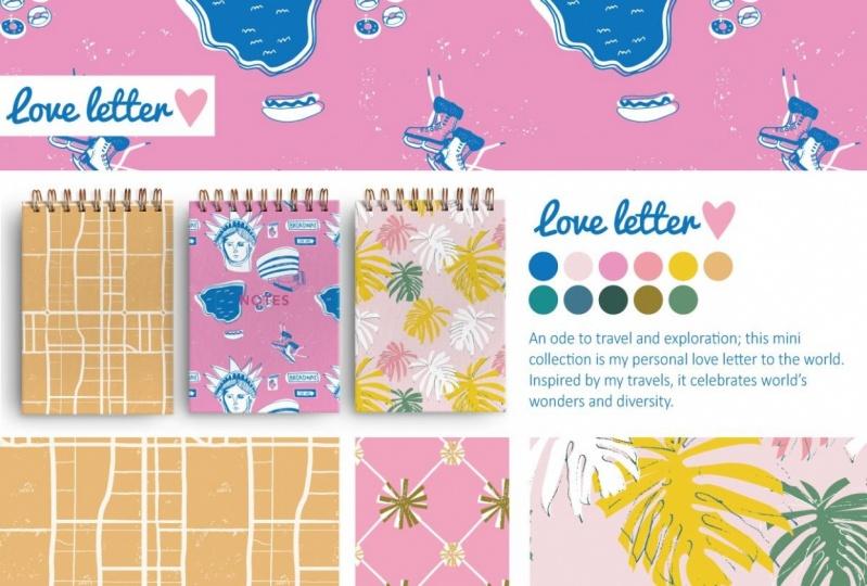 Mini collection design sheet