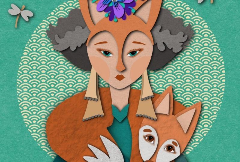 Fox woman