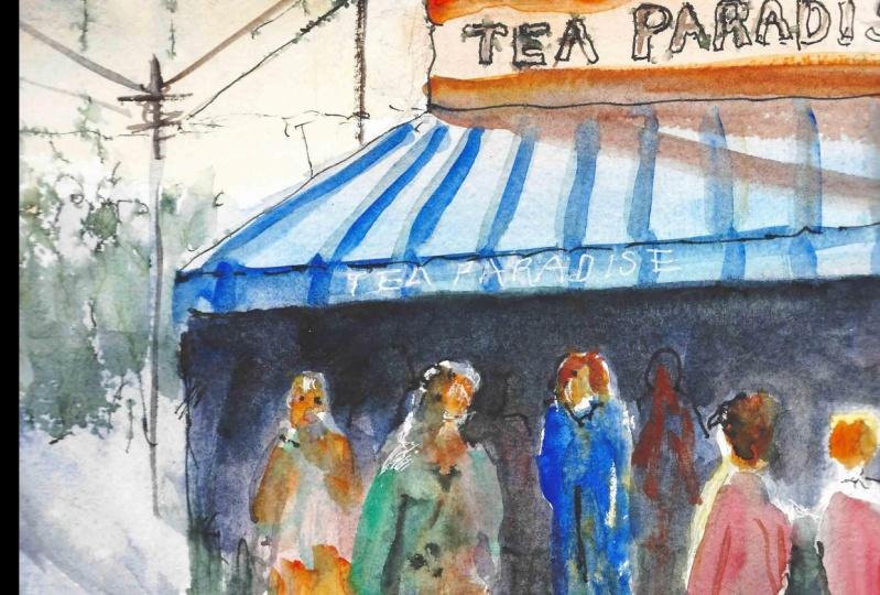 Tea Shop with Canopy