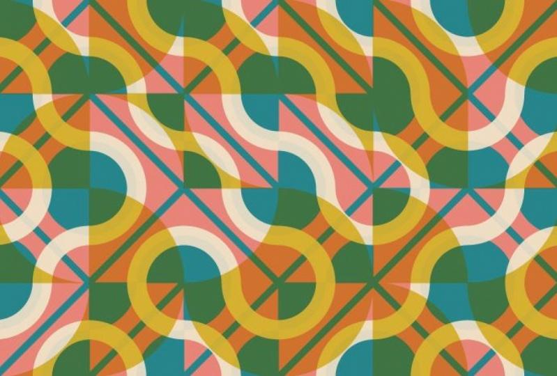 Layered Truchet Pattern