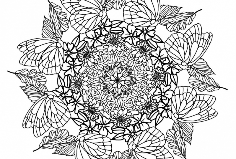 My Butterfly Mandala
