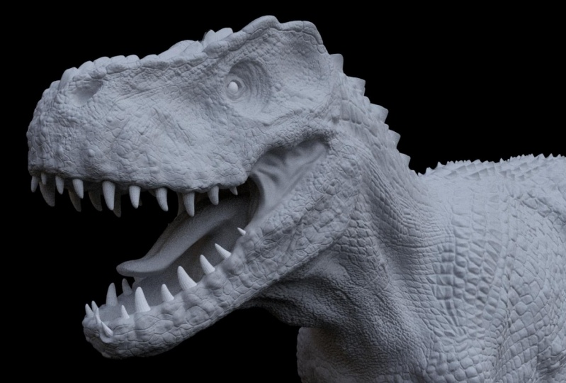 Here are the images of my V-Rex. I hope you like it :D