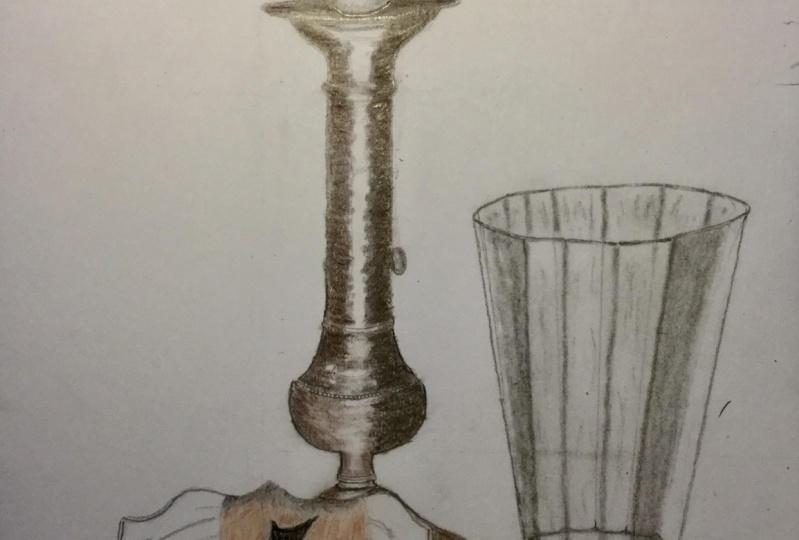 My first ever still-life sketch