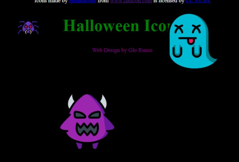 Animated Halloween Icons