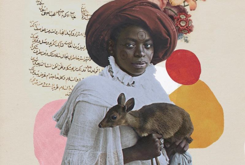 Swahili woman collage
