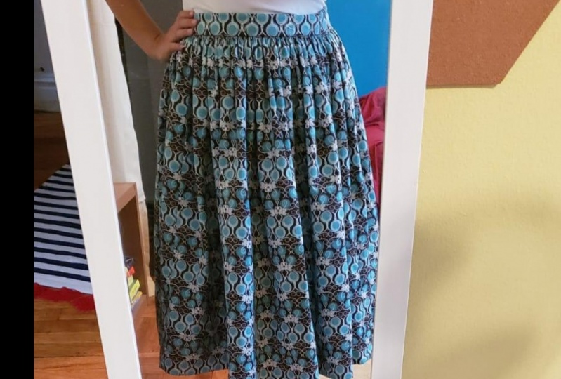My first skirt ever!