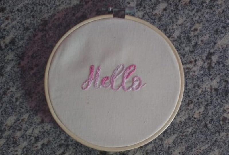 my 'Hello'