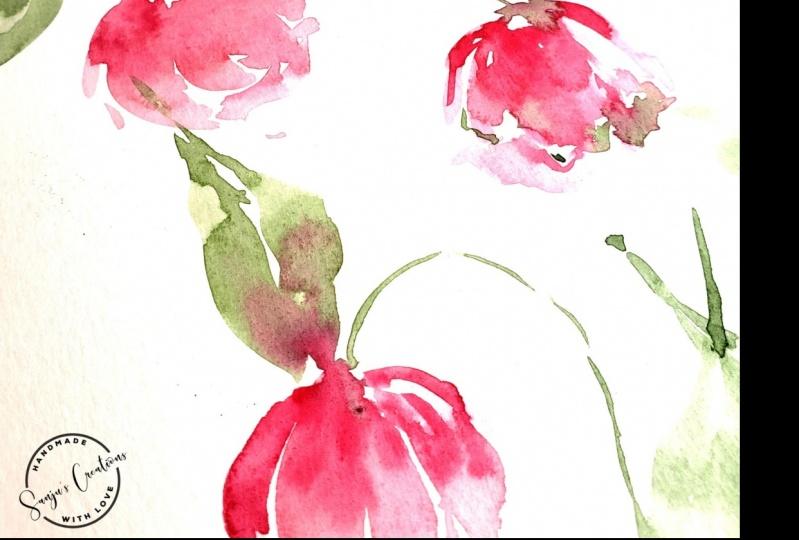 Loose tulips