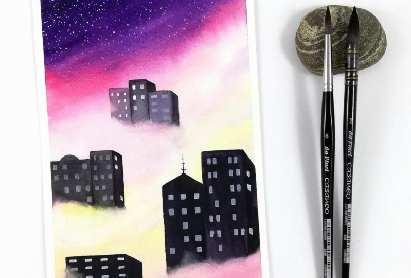 Cloudy cityscape project