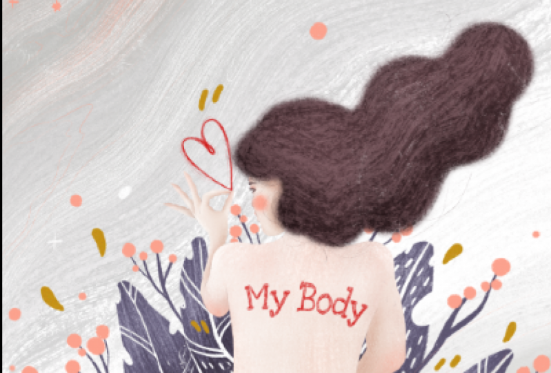 MY BODY, Powerful Women Illustration