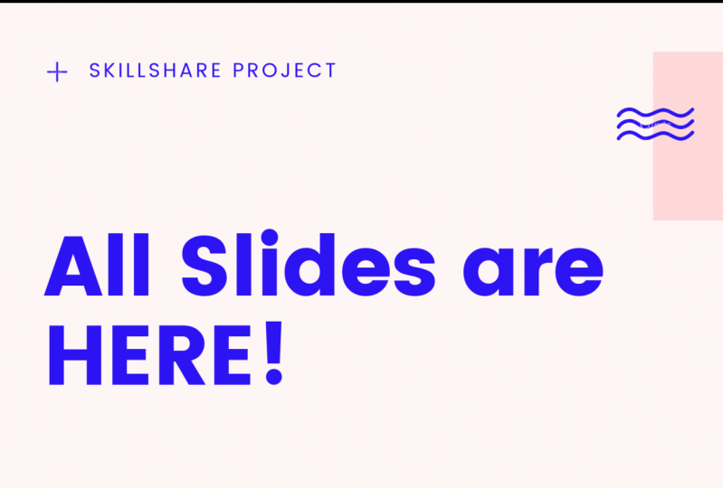 All Slides are HERE