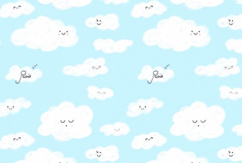 Cute Clouds Pattern