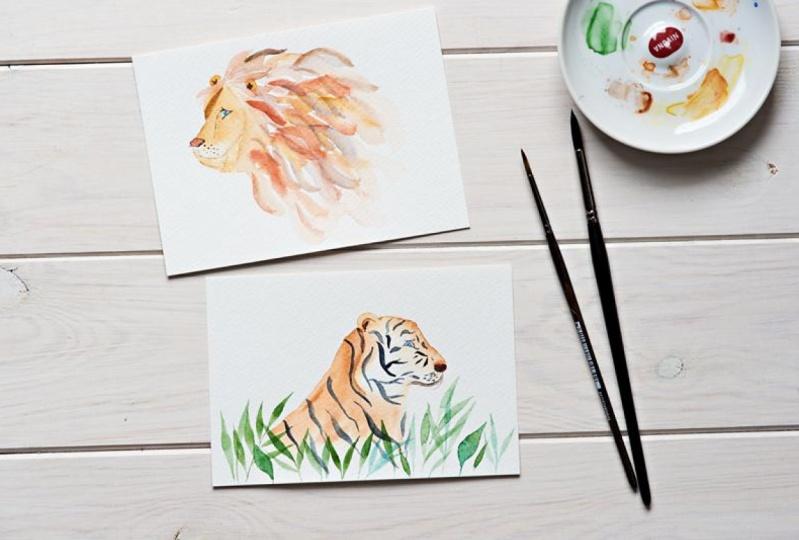 Mr Lion and Mr Tiger