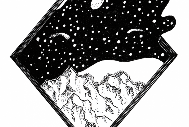 Drawing Galaxies with Fineliners