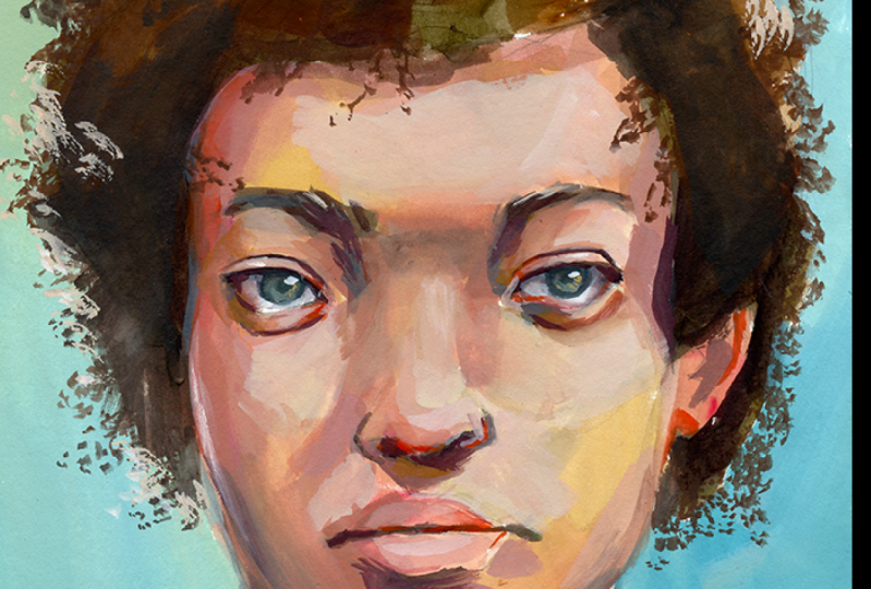 Gouache Portraits - Sample Project!