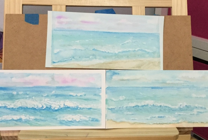 3 sea scapes